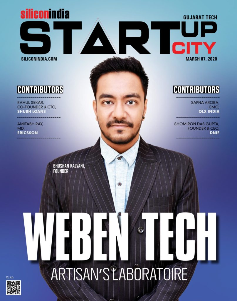 Weben Tech on Silicon India Magazine Cover